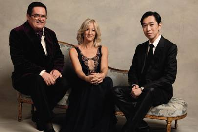 David Crickmore, Patricia Stevenson and Christopher Chong
