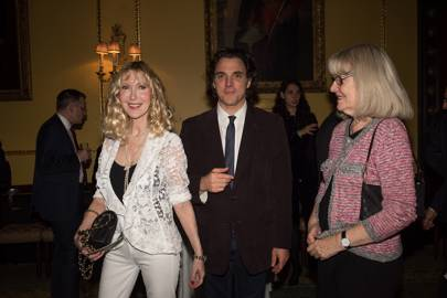 Basia Briggs, Alexander Newley and Anne Dunhill