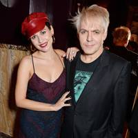Nefer Suvio and Nick Rhodes