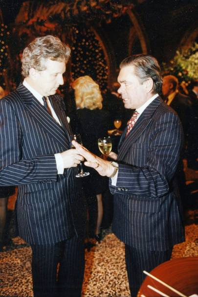 Lord Valentine Cecil and Lord Palmer