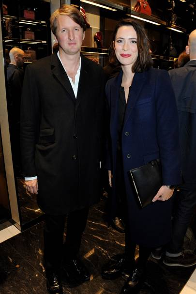 Tom Hooper and Rebecca Hall