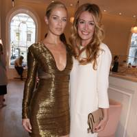 Carolyn Murphy and Cat Deeley