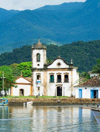 The culture one: Paraty