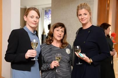 Aurore Ogden, Philippa Hobson and Corinne Julius