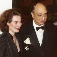 Princess Katarina of Yugoslavia and Desmond de Silva QC