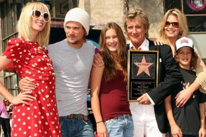 Rod Stewart Family Renee Stewart Marriages Wives Children