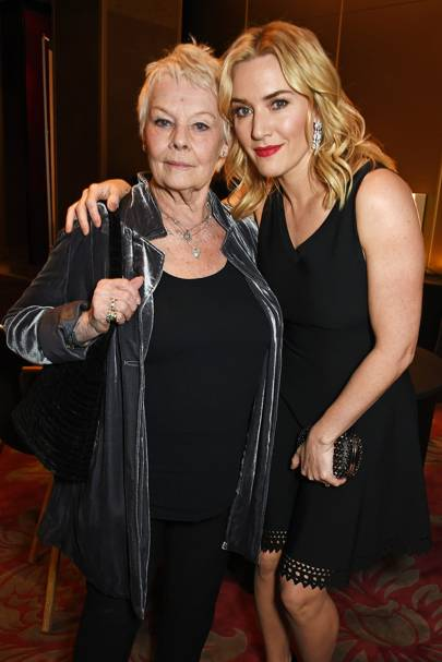 Dame Judi Dench and Kate Winslet
