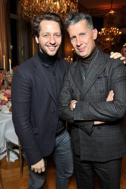 Derek Blasberg and Stefano Tonchi