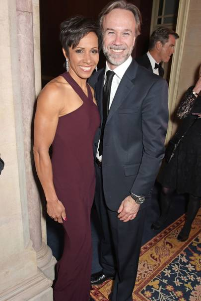 Dame Kelly Holmes and Marcus Wareing