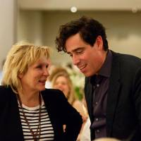 Jennifer Saunders and Stephen Mangan