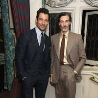 David Gandy and Richard Biedul