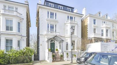 7-bedroom house on Phillimore Gardens, Kensington