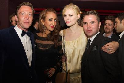 William Sweeting, Princess bint Saud, Katya Elizarova and Tomas Petraska