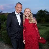 Jean-Christophe Babin and Franca Sozzani