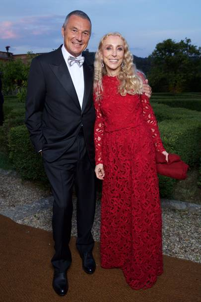 Jean-Christophe Babin and Franca Sozzani