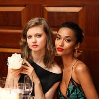 Lindsey Wixson and Anais Mali