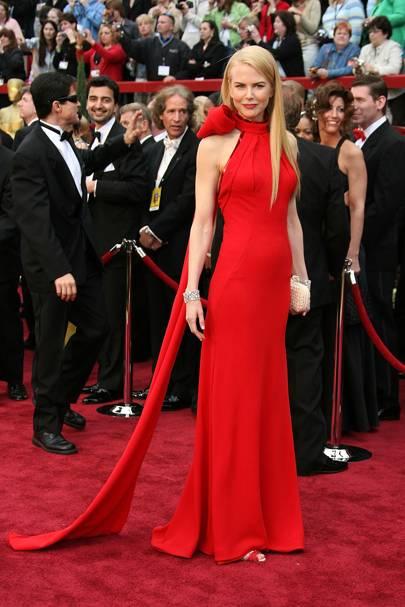 Nicole Kidman wearing Balenciaga in 2007