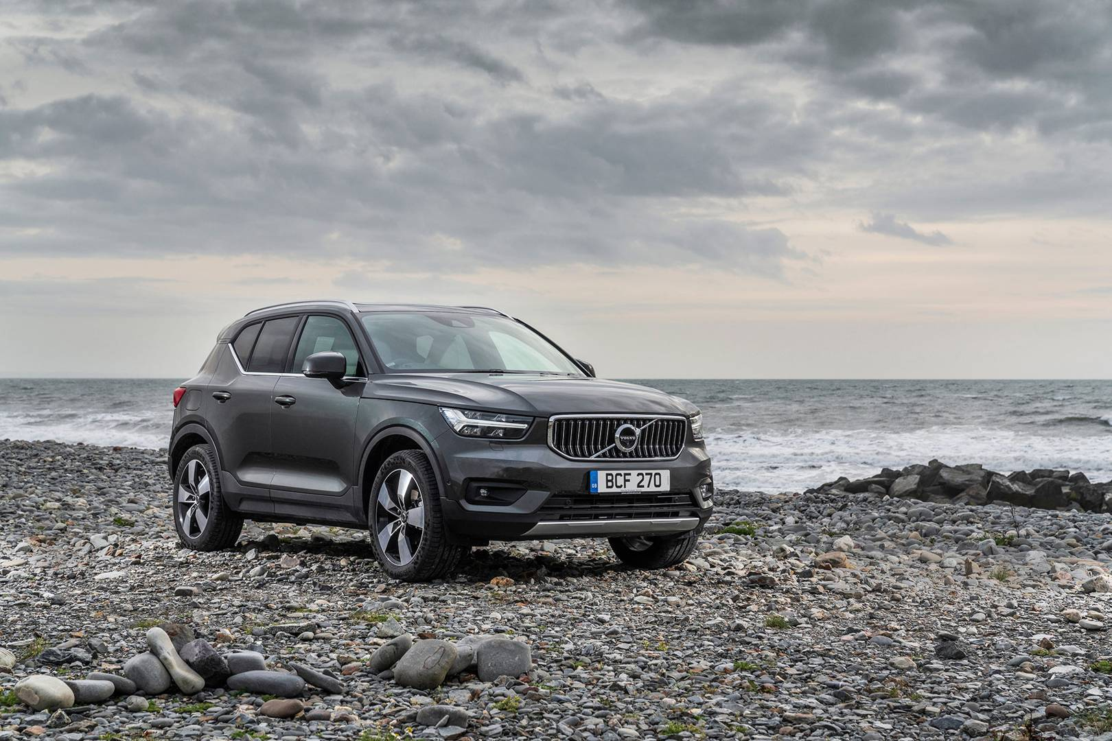 The Volvo XC40: Highly capable and cool
