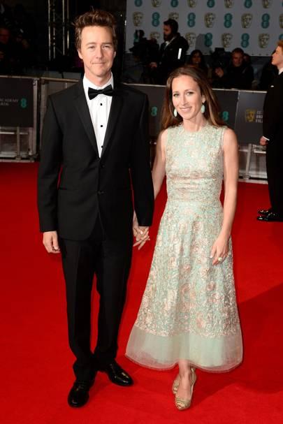 Ed Norton and Shauna Robertson