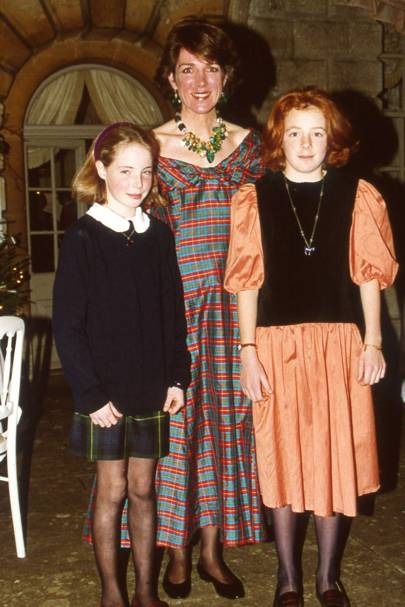 Rose Farquhar, Mrs Toby Sturgis and Nicola Sturgis
