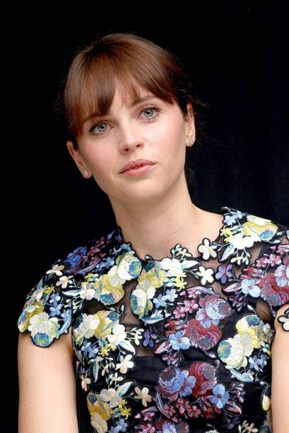 At The Theory of Everything press conference in Canada, 2014