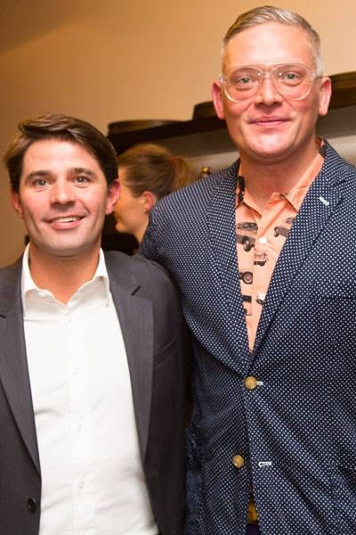Davide Sozzi and Giles Deacon
