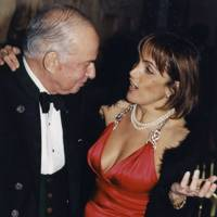 Donald Kahn and Mrs Elie Elghanian Krayem