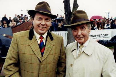 Felix Francis and Dick Francis