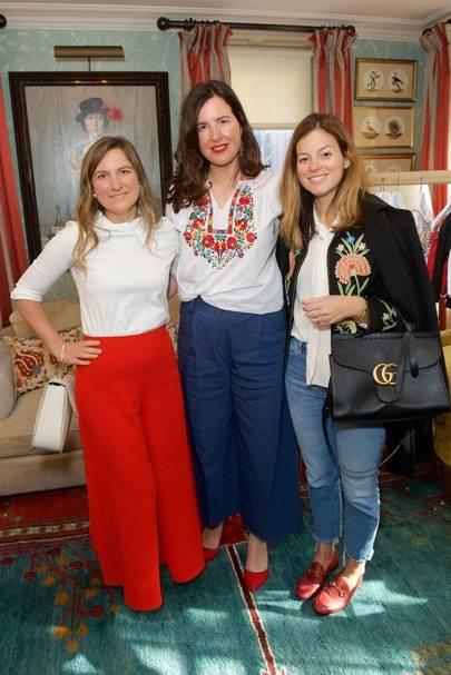 Skye McAlpine, Celia Muñoz and Serena Hood