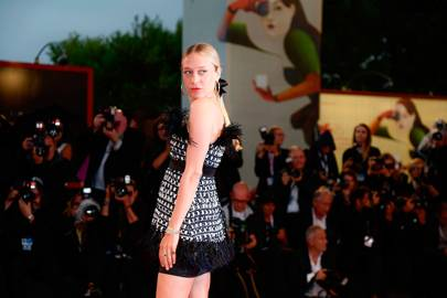 Chloe Sevigny at the  'At Eternity's Gate' premiere