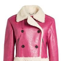 Kenzo shearling jacket
