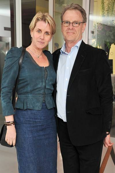 Fiona Golfar and Robert Fox