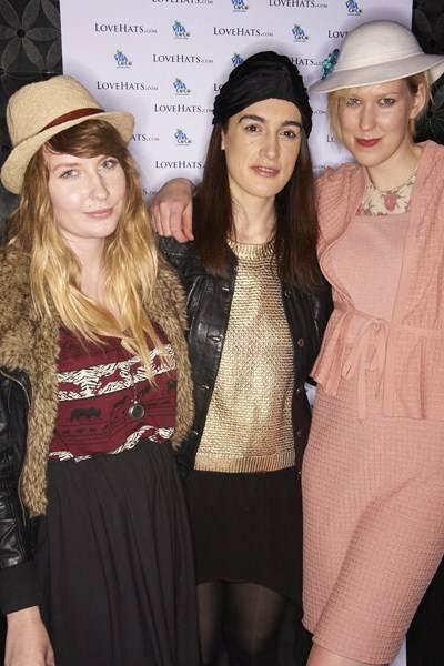 Olivia Pinnock, Silvia Shone and Bryony Wilson