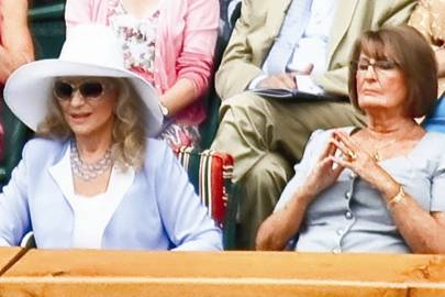 Princess Michael of Kent and Lady Annabel Goldsmith