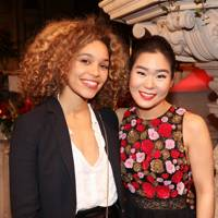 Izzy Bizu and Esther Yoo