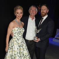 Emilia Fox, Sir Tom Courtenay and Tristan Goligher