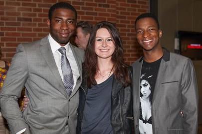 Mark Ebulue, Lizzy Moore and Simon Manyonda