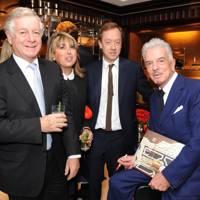 Nicholas Lloyd, Eve Pollard, Geordie Greig and Nicky Haslam