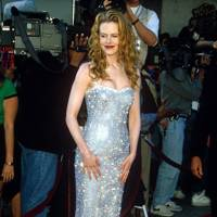 At the 'Batman Forever' premiere, 1995