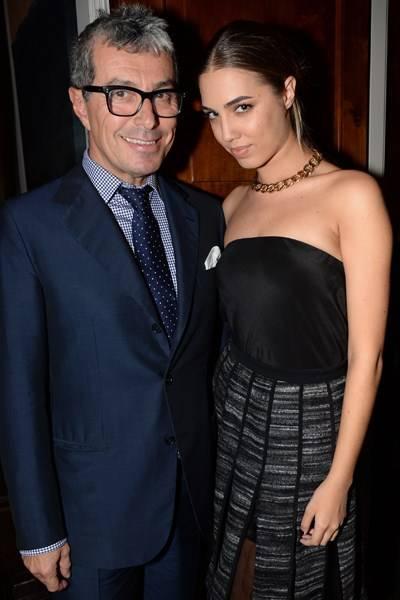 Giorgio Guidotti and Amber Le Bon