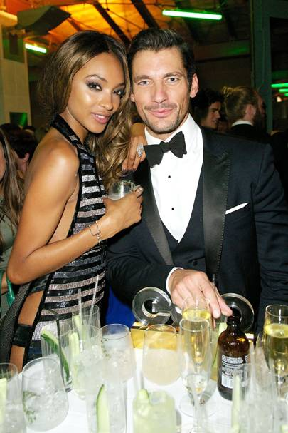 Jourdan Dunn and David Gandy