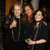 Helen Chislett, Jade Jagger and Rachel Lasver