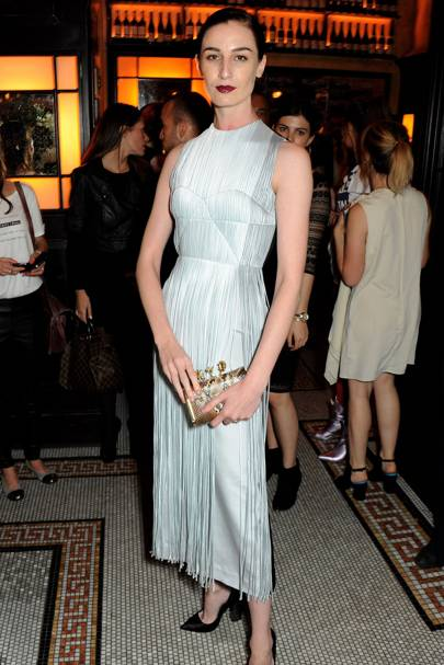 Erin O'Connor in Barbara Casasola