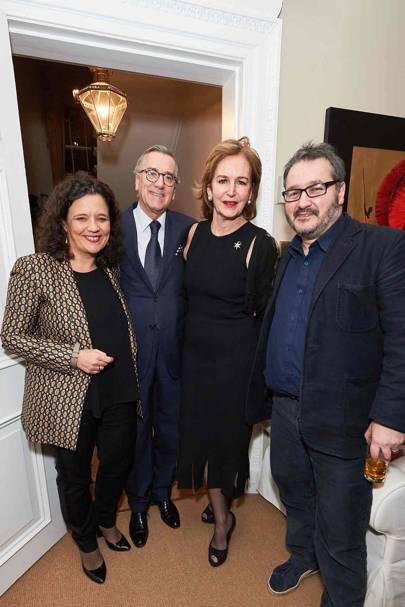 Cristina Fuentes La Roche, Néstor Osorio Londoño, Caroline Michel and Peter Florence