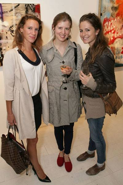 Kim Asprey, Alexandra Ray and Adeline de Monseignat