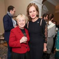 Sue Wilkinson and Caroline Michel