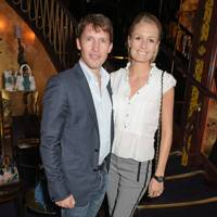 James Blunt and Sophia Wellesley