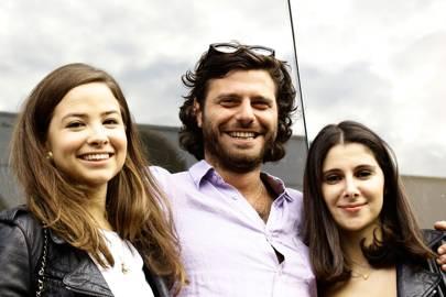 Serena Guen, Nicholas Dellaportas and Nazifa Movsoumova
