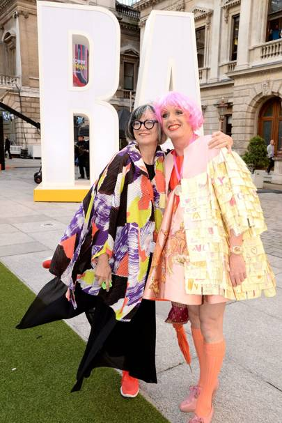 Philippa Perry and Grayson Perry