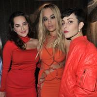 Noomi Rapace, Rita Ora and Elena Ora